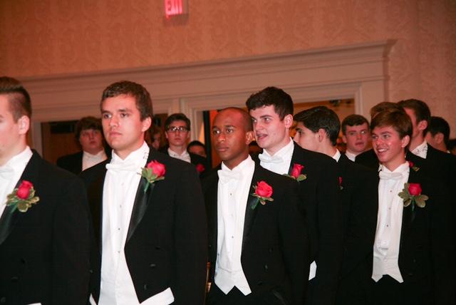 Escorts at the Medallion Ball