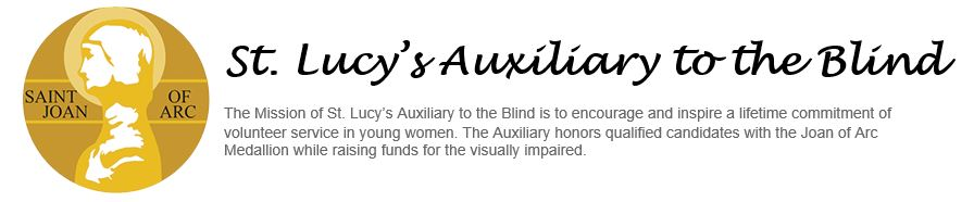 St. Lucy's Auxiliary to the Blind
