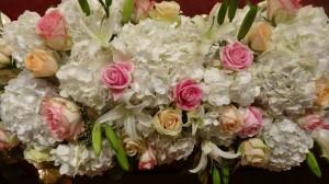 st lucys floral arrangement